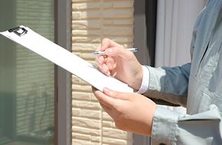 外壁塗装・屋根塗装専門店、岐阜県恵那市、中津川市、瑞浪市、土岐市地域密着の本多塗装店へ 現場調査