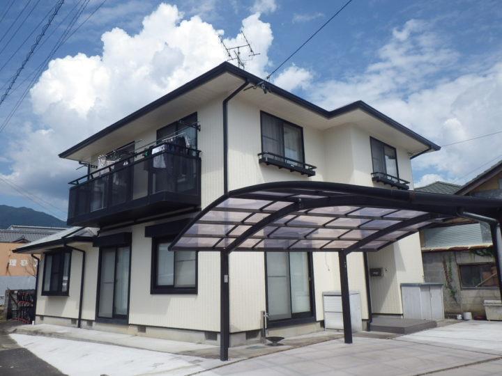 中津川市 M様邸  外壁・屋根塗装工事