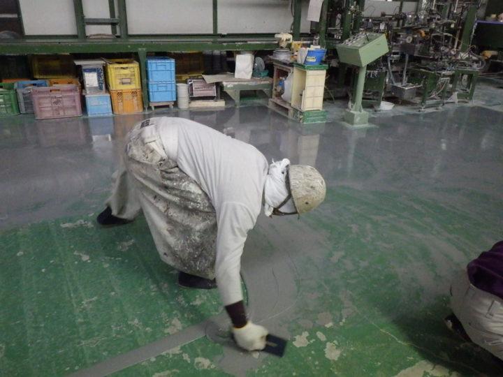 工場塗装工事