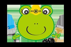 外壁塗装・屋根塗装専門店、岐阜県恵那市、中津川市、瑞浪市、土岐市地域密着の本多塗装店へ ロゴ2