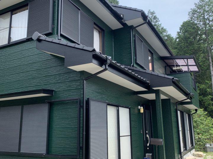恵那市Y様邸外壁・屋根塗装工事|中津川市・恵那市の外壁塗装・屋根塗装工事専門店 ㈲本多塗装店