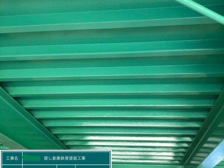 恵那市 F様貸倉庫塗装工事|中津川市・恵那市の外壁塗装・屋根塗装工事専門店 ㈲本多塗装店