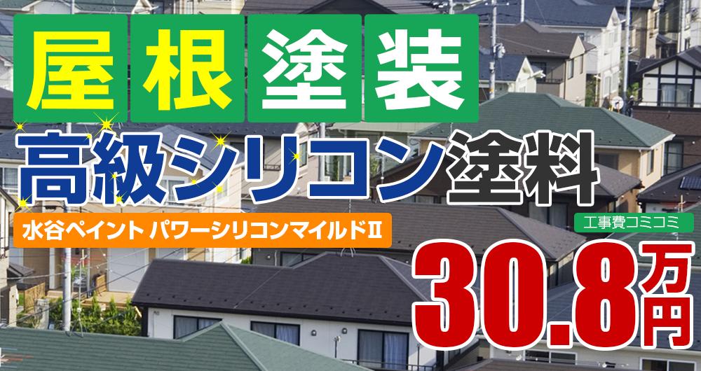 高級シリコン塗装塗装 30.8万円